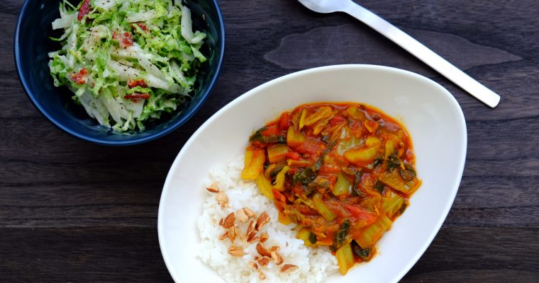白菜たっぷりカレー Vegan Chinese Cabbage Curry